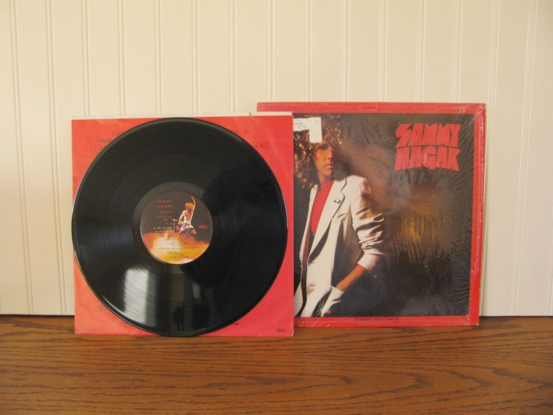 Vintage Album Sammy Hagar Street Machine Red Rocker Classic Rock Album Hagar Album Stereo Disc Sammy Hagar Record 70 S Rock Capitol Records Classic Rock Albums