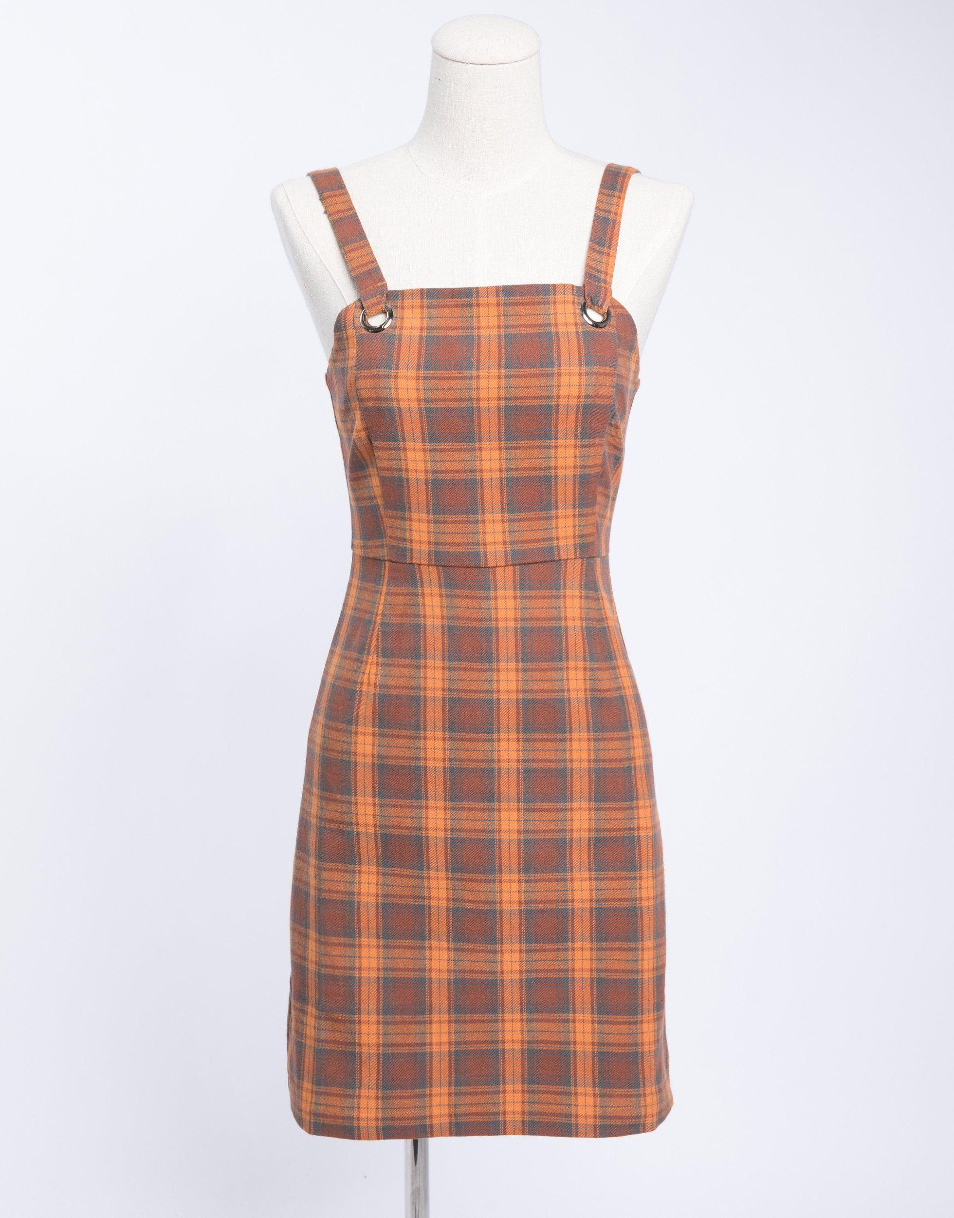 d2cac61ede Plaid Overall Dress, overall dress, spring dress, summer dress, plaid dress.