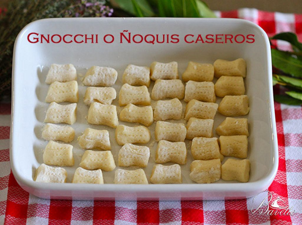 Cocinar Ñoquis | Como Hacer Gnocchi O Noquis De Patata En Casa Es Facil Y Rapido