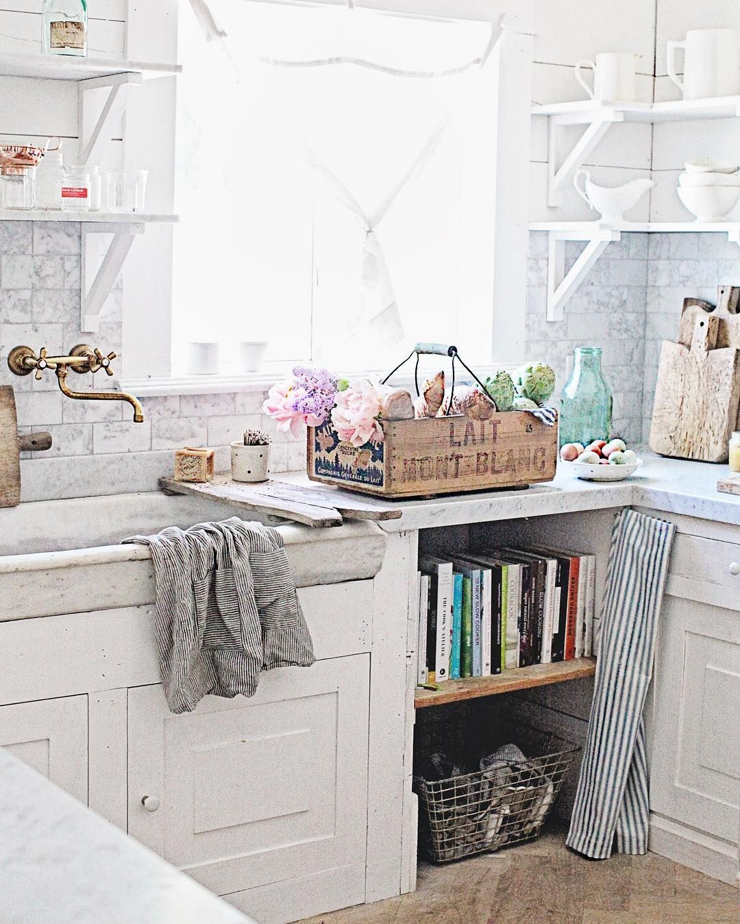 Pin by Little Yellow Cottage on ***Cozy Cottage Kitchens