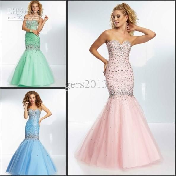 Sparkling Mermaid /Trumpet Floor Length Pageant Dress Sweetheart Pageant Dresses   Buy Wholesale On Line Direct from China