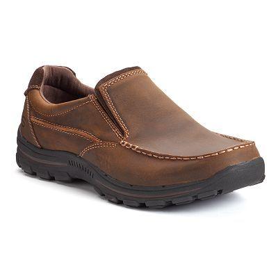 Skechers Relaxed Fit Braver Men's Slip On Shoes | Mens slip
