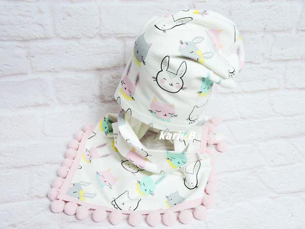 Komplet Dresowy Czapka Chusta Karii B Czapki Dla Dzieci Bucket Hat Fashion Baby