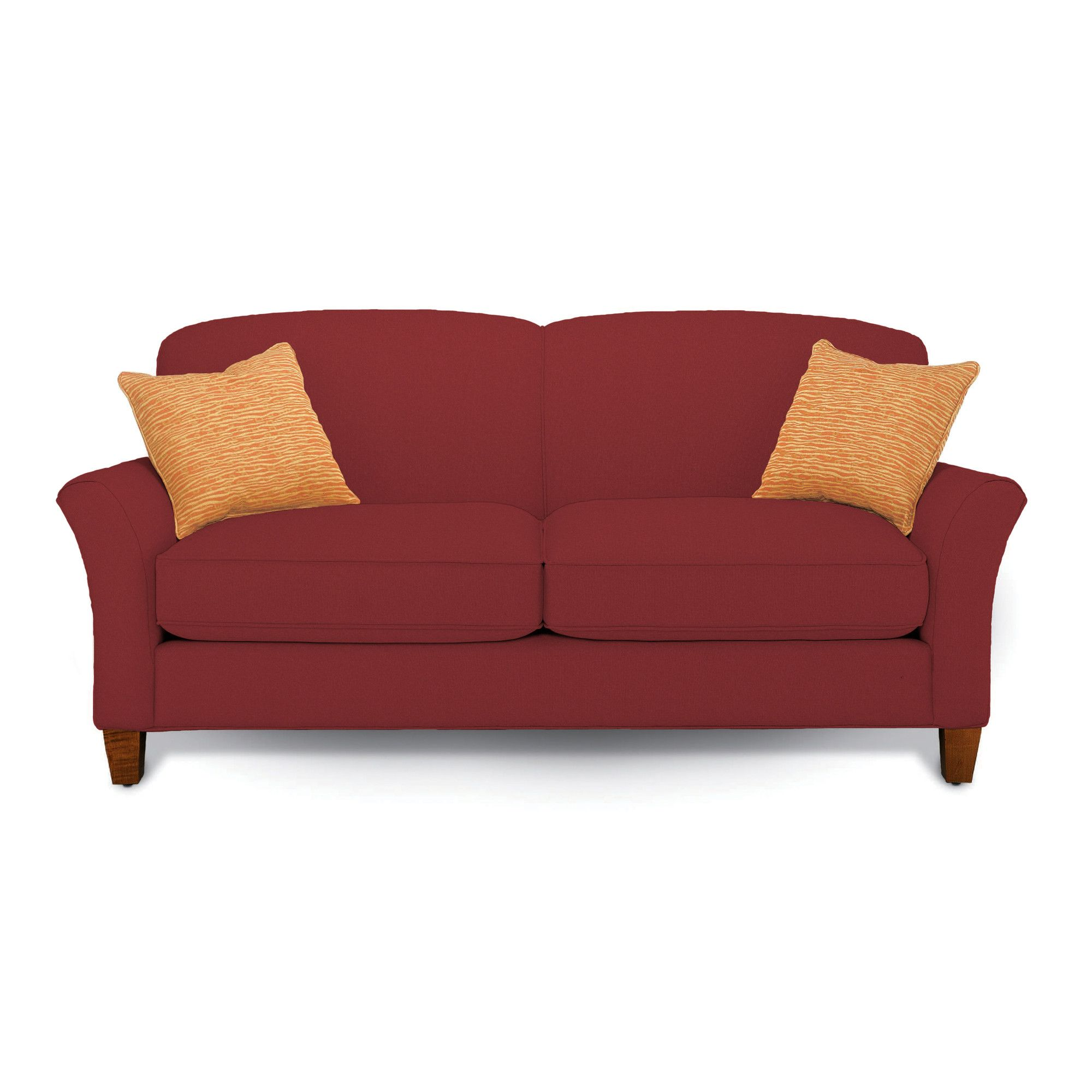 Rowe Furniture Capri Mini Mod Apartment Loveseat Reviews Wayfair