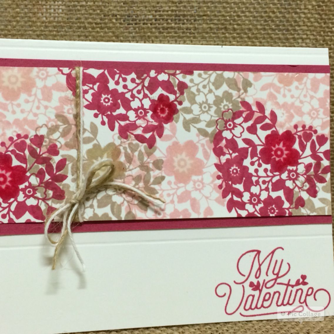 stampin up blooming love all occasions 2016 valentine's