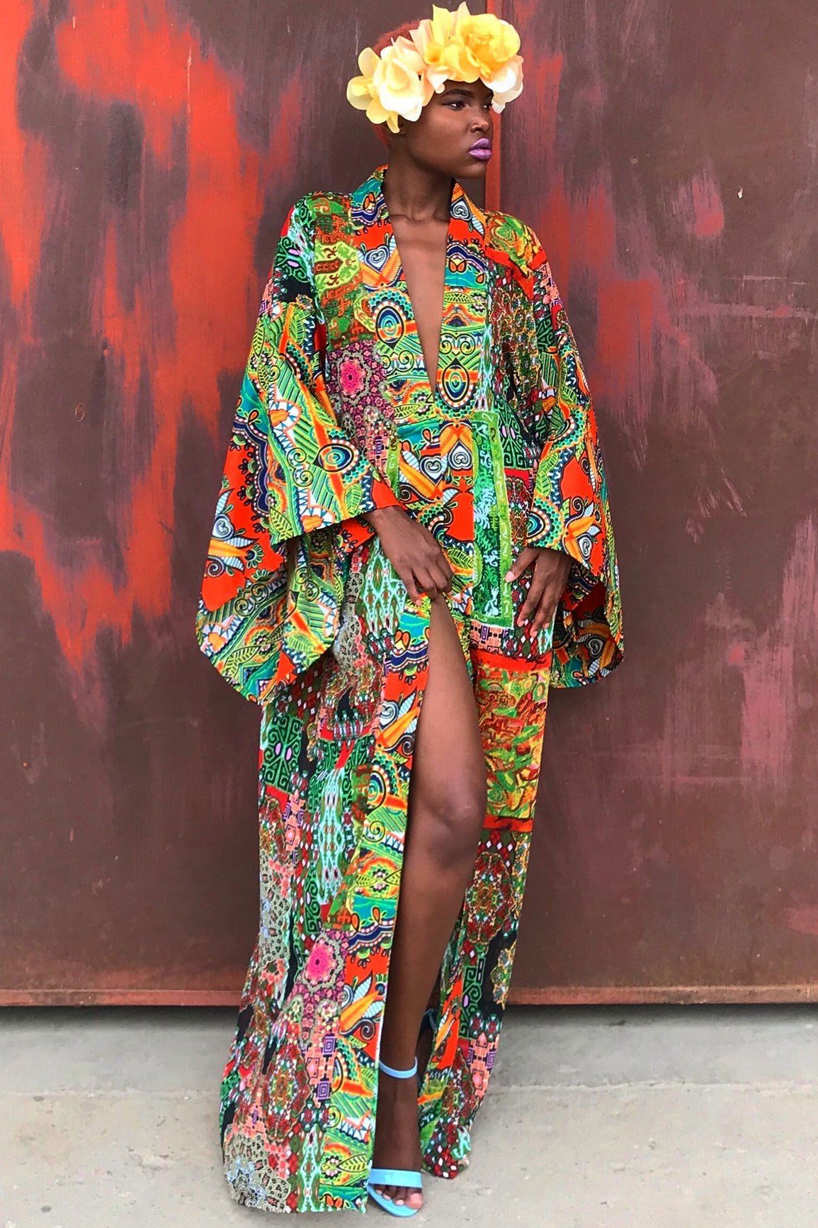 Mangishi Doll Md The Afro Eclectic Print Queen In 2020 African Print Fashion Dresses African Fashion Modern Colourful Outfits