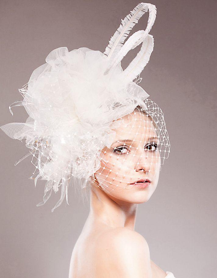 Wedding fascinators and bridal accessories
