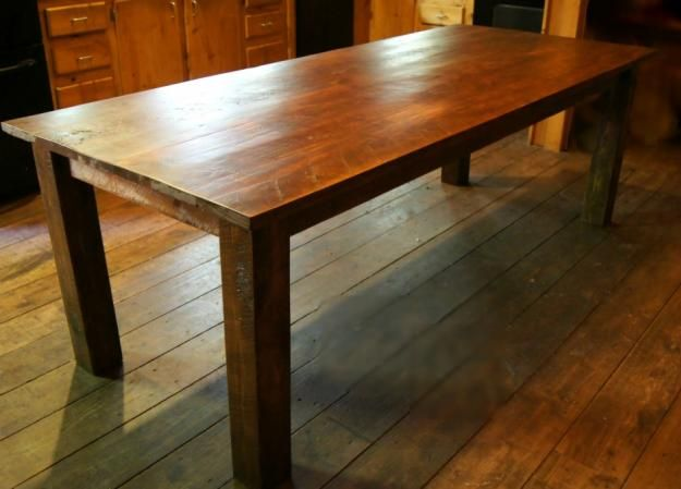 Pictures of  Custom Farm Table - Dining Table - Seats 8 - Brand New - MUST SELL