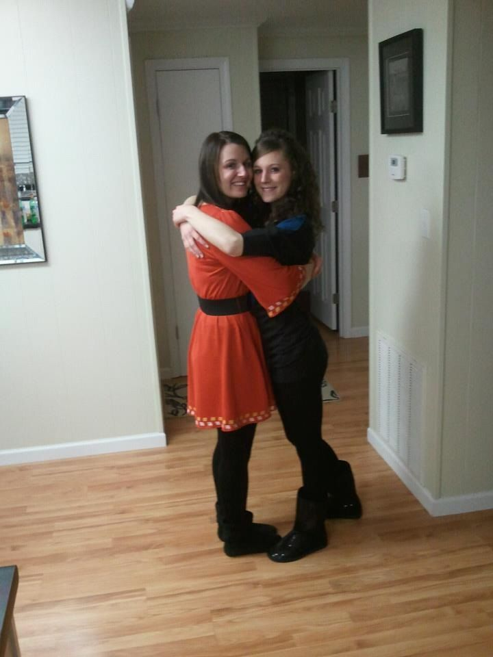 Heather and Lyndsey