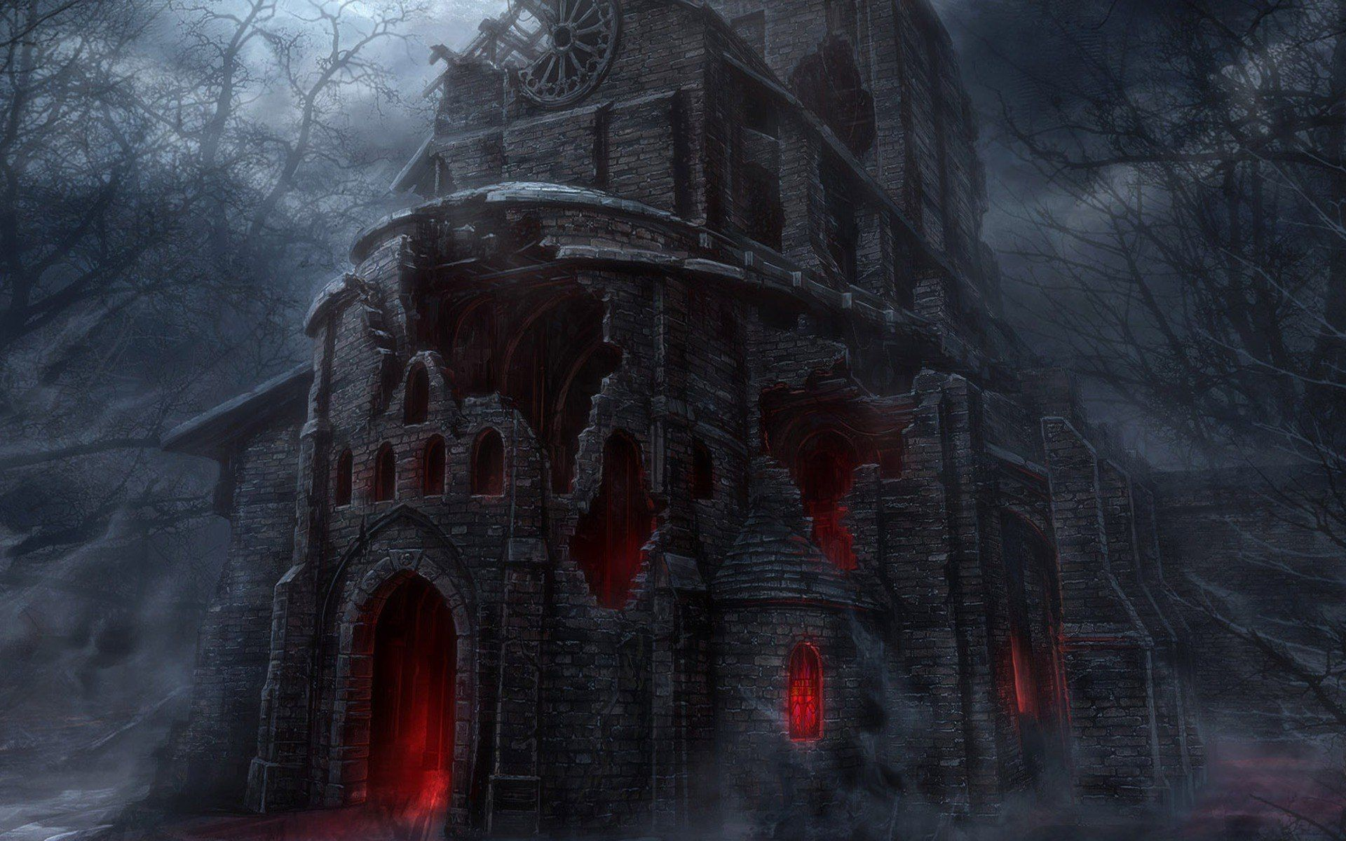 Halloween Wallpaper Gothic Wallpaper Gothic Pictures Scary Houses