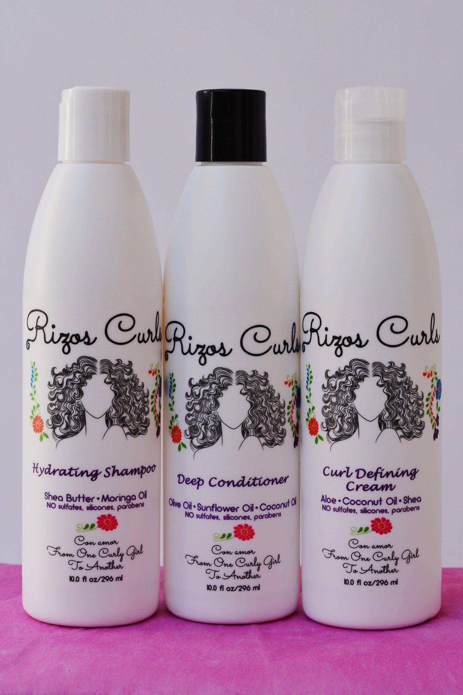 The Rizos Curls Trio Rizos Productos Para Cabello Rizado Rizos