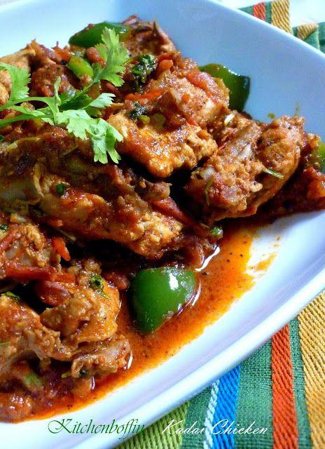 Kitchen Boffin Kadai Chicken Diner Vlees Pinterest Indian