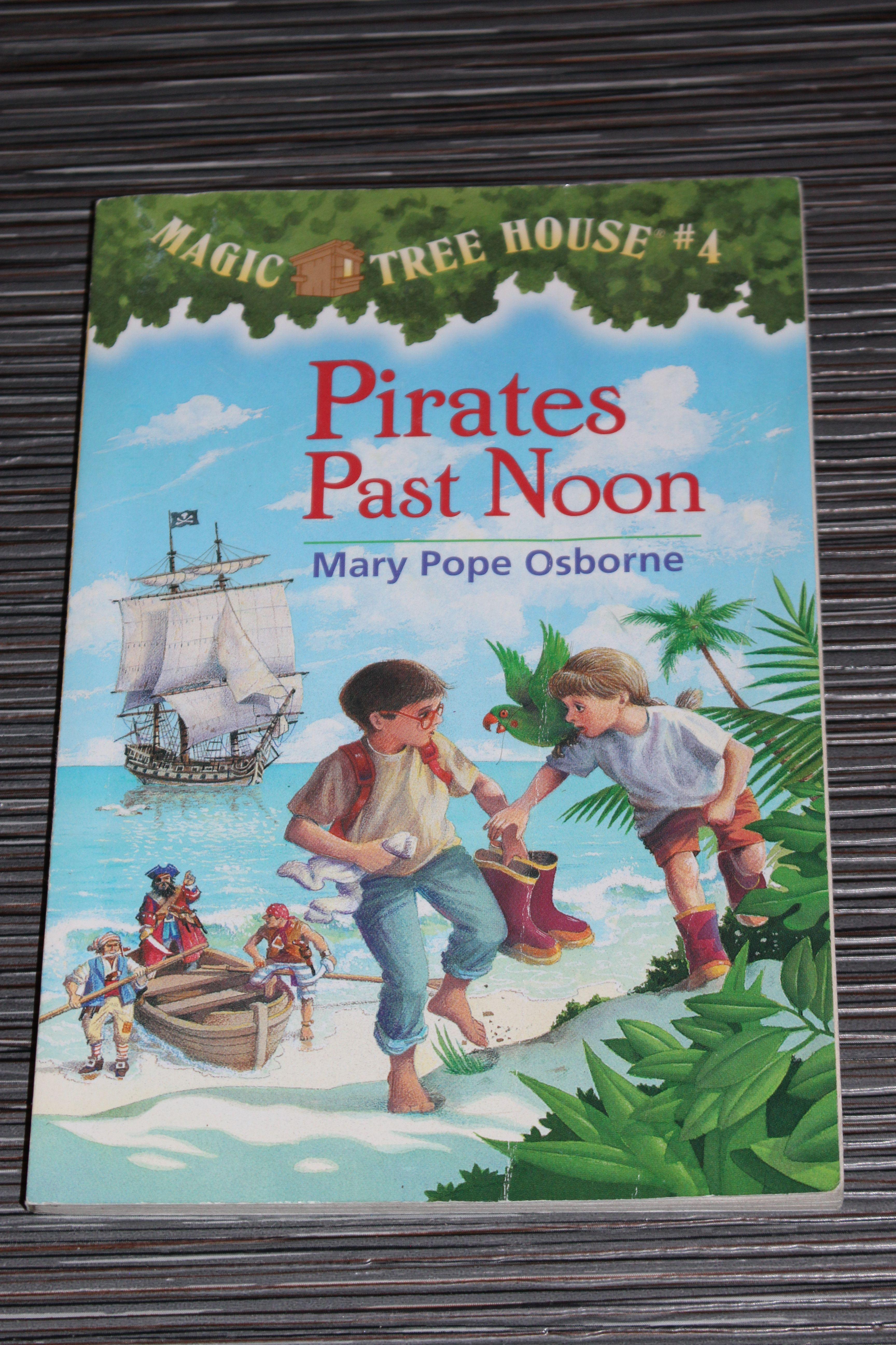 Magic Tree House Book 4 Pirates Past Noon