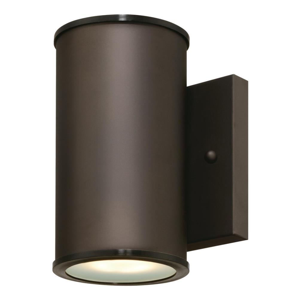 Westinghouse Mayslick 1 Light Oil Rubbed Bronze Outdoor Integrated Wall Lantern Sconce Cylinder 6315600 Outdoor Light Fixtures Outdoor Sconces Outdoor Wall Lighting