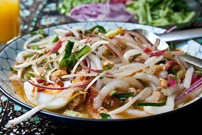 Laksa Kelantan Laksa Putih Kelantan Laksa Malaysian Monday 96 And Happy Deepavali Malaysian Cuisine Laksa Asian Recipes