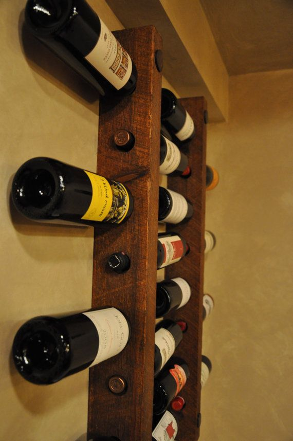 Dining room wall decor 16 bottle Wine Racks wine rack wall ...