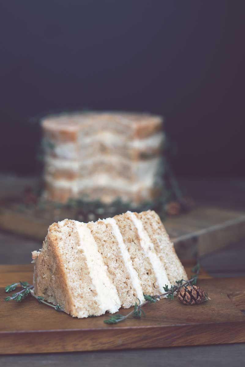 Rustic Cake Design Espresso Cardamom Buttercream Frosting
