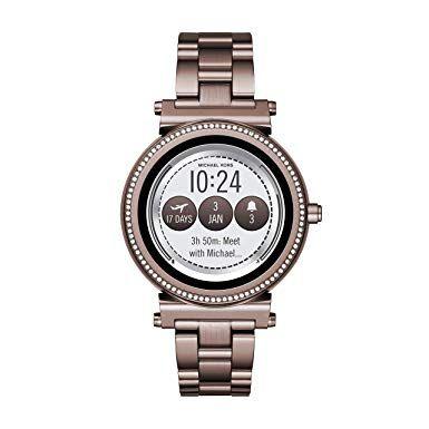 Michael Kors Women S Sofie Touchscreen Smartwatch Stainless Steel
