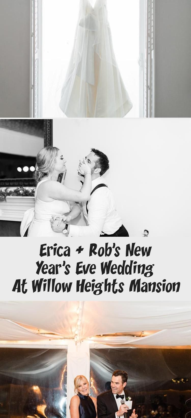Erica + Rob's New Year's Eve Wedding at Willow Heights Mansion // Cheers Babe Photo, bride, groom, couple goals, new years eve wedding, nye wedding #F…