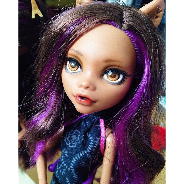 #몬하돌 #몬스터하이 #몬스터하이돌 #리페인팅 #클라우딘 #monsterhigh #doll
