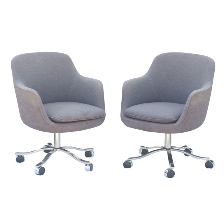 Pair Of Nicos Zographos For Zographos Bucket Chairs Bucket