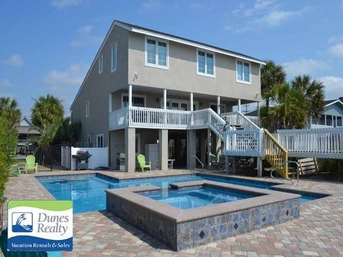 Garden City Beach Rental Beach Home Sunshine Blue Skies Myrtle
