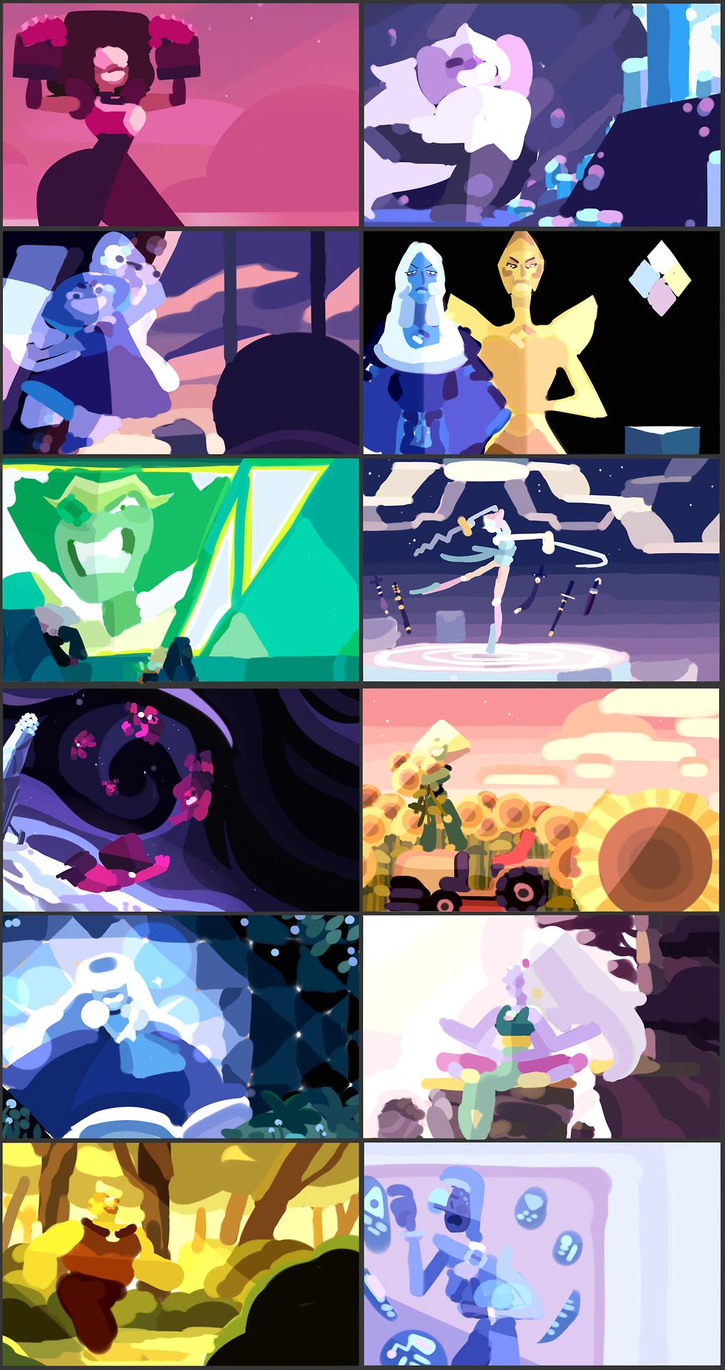 Calendar 2018 Color Schemes Color Blurbs And All Birthstones I M Doing For The Calendar Steven Universe Gem Steven Universe Fanart Steven Universe Memes