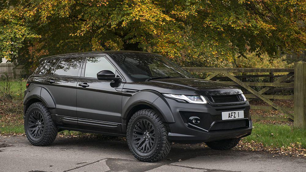 go rally with the kahn design range rover evoque x lander edition  range rover evoque white modified interior #11