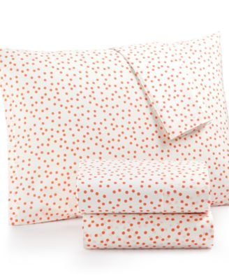 Whim by Martha Stewart Collection Novelty Print Cotton Percale Standard…