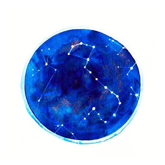 Scorpio Constellation Print