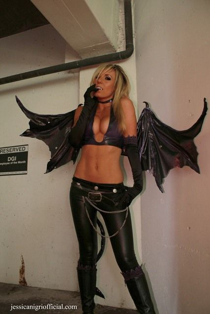 Pretty Cool Succubus Costume Modify The Wings And Make An Incubus