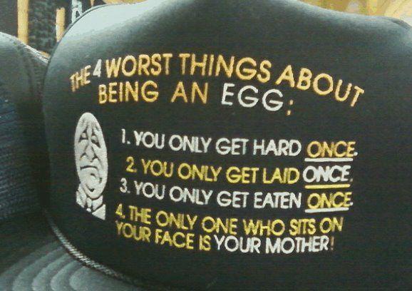 Ei moet niet zeuren… Er zijn nerds en losers die niet eens zover komen…
