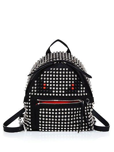 Fendi Monster Backpack Studded