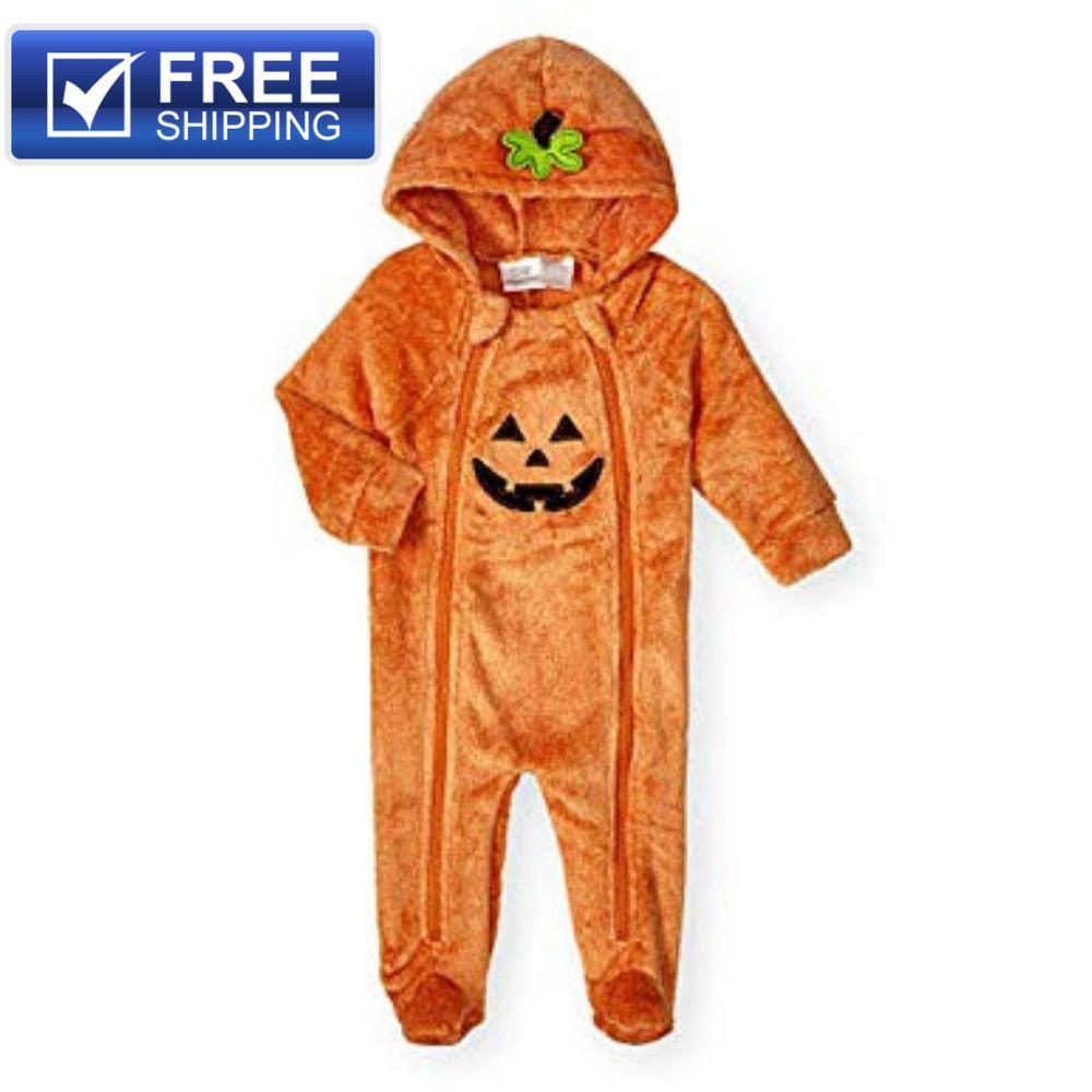 new koala kids baby unisex infant 0-3 month pumpkin halloween