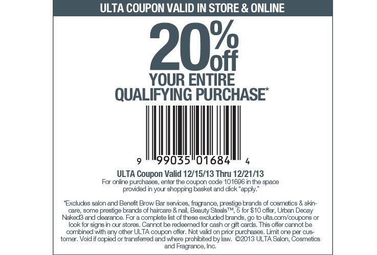 Ulta Com 20 Off Your Entire Purchase Coupon Copy And Enter This Coupon Code At Checkout 101696 Www Shopizaar Com Ulta Coupon Ulta Jcpenney Coupons