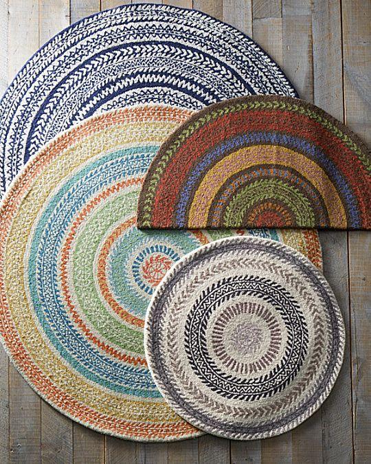Garnet Hill Fair Isle Hooked Wool Rug Woven Rug Wool Rug Hooked Wool