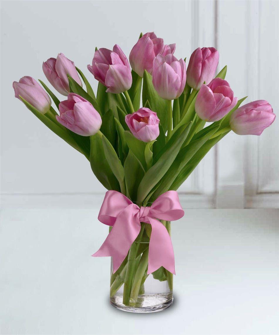 Cute Tulip Bouquet Pink Tulips Bouquet Tulip Bouquet Tulips Flowers