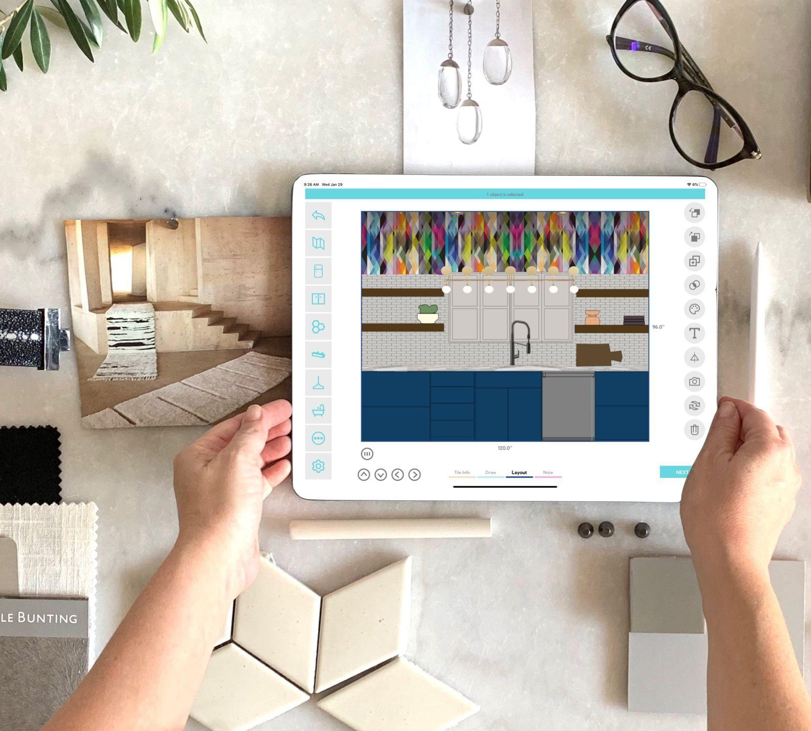 Interior Design Finish Visualizer For The Ipad Interior Design Presentation Interior Design Presentation Boards Interior Design Business
