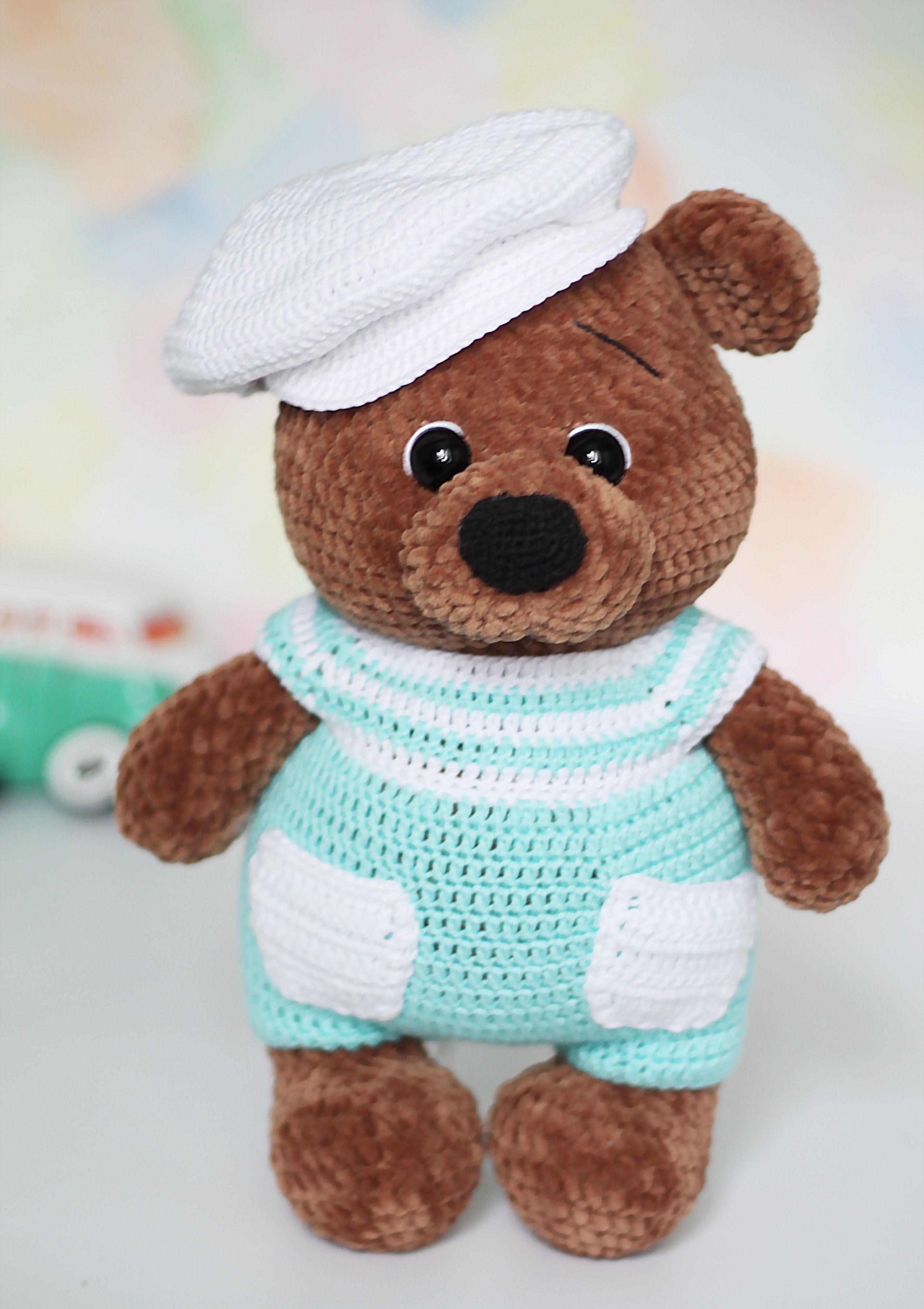Amigurumi Plush Teddy Bear Free crochet pattern - Amigurumi Crochet | 4032x2848