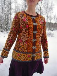 Photo of ravelry.com Netteke's Fitted Jacket with Embroidery – Google Search
