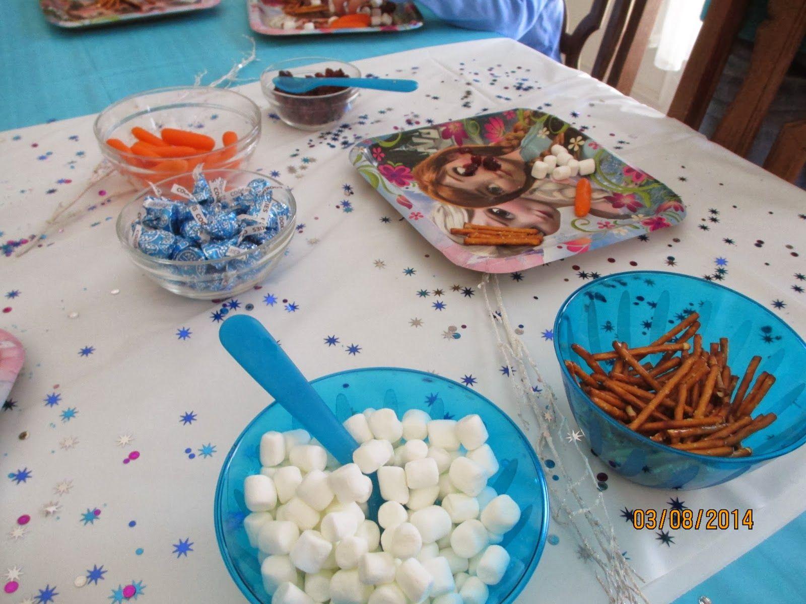 The Pixie Dust Posse: Frozen Birthday Party