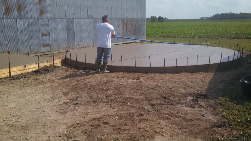 knocking down the bull float lines