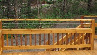 Best Cable Railing Above Wood 2X2 Railing Deck Railings Deck 400 x 300