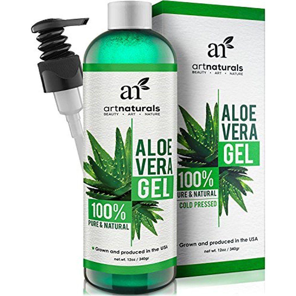 Artnatural Pure Aloe Vera Gel For Face Hair Body Acne Hair Growth Benefits 12oz 100pure Aloe Vera Gel Face Organic Aloe Vera Gel Aloe Vera Hair Gel