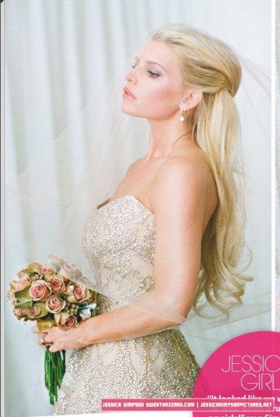 Sweethazzard Com Photo Gallery Jessica Simpson Pictures Jessica Simpson Wedding Celebrity Wedding Hair Jessica Simpson Hair