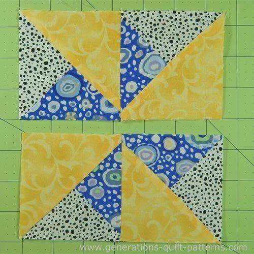 Double Pinwheel Quilt Block 3 4 5 6 And 8 Block Sizes Pinwheel Quilt Block Pinwheel Quilt Pattern Pinwheel Quilt
