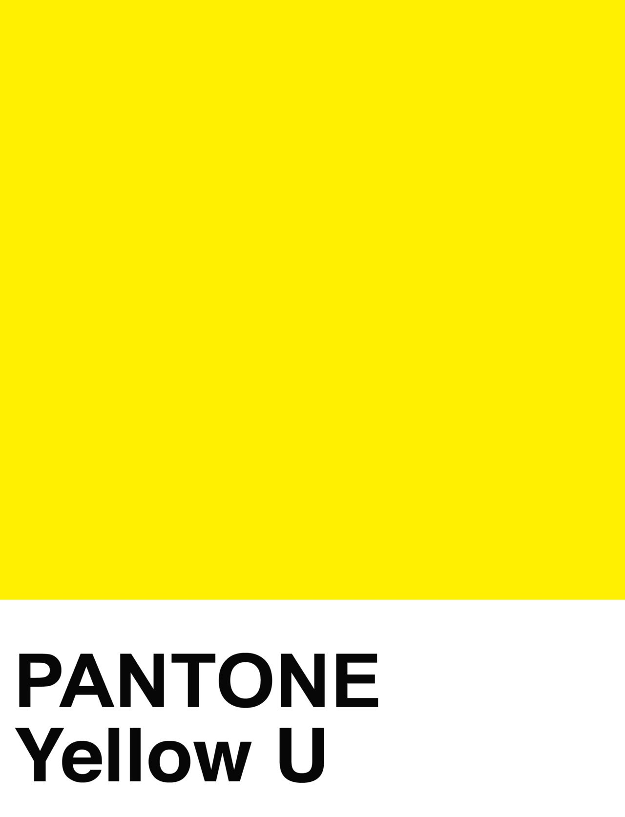 Yellow Pantone Pantone Color Pantone Solid Uncoated Photo