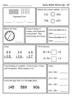 math worksheet : math for second grade second trimester  math daily math and  : Common Core Math Worksheets For 2nd Grade