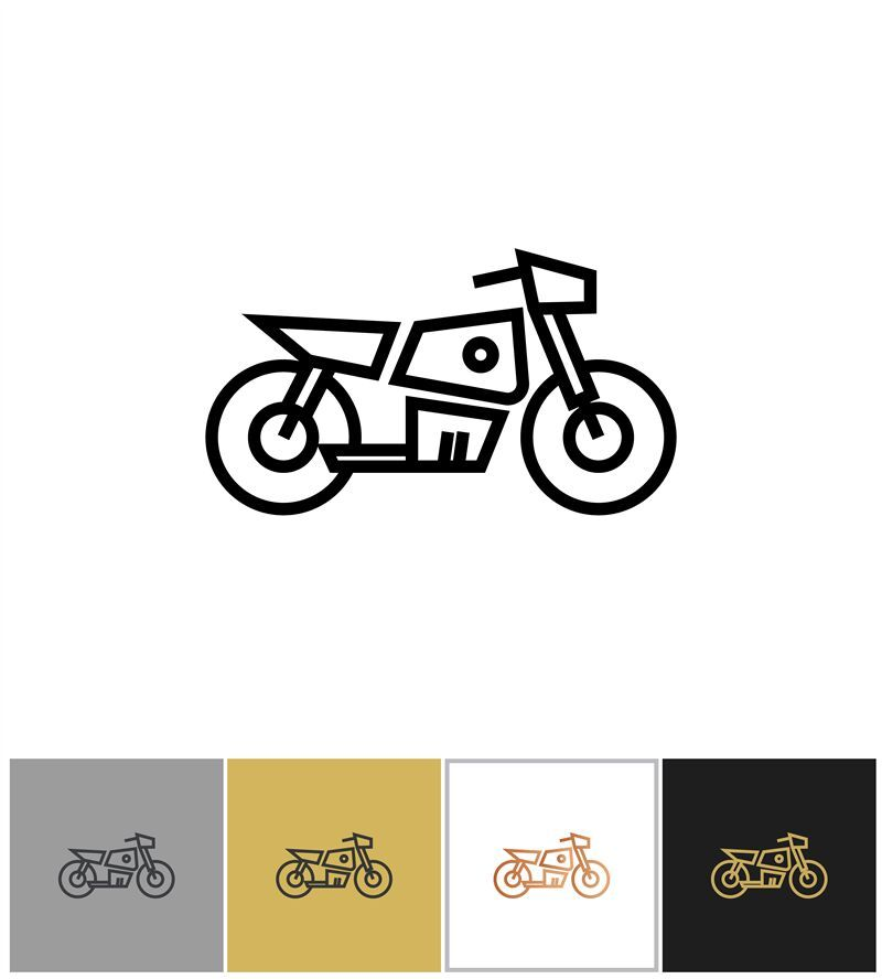 Motorcycle Icon Electric Bike Sign Or Motorbike Symbol By Microvector Thehungryjpeg Com Electric Sponsored Bike Motorcycle Icon Adver V 2020 G