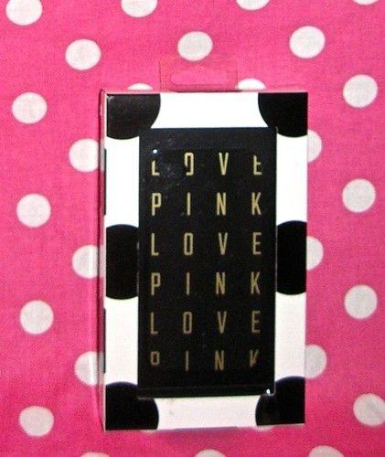 New Victorias Secret Love Pink Logo iPhone 4 4S Black Gold Hard Case Cover | eBay